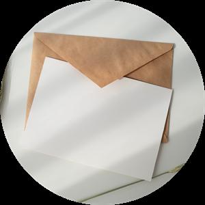 أيقونة رسائل المشاركين